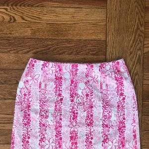 Vintage Lilly Pulitzer pink skirt
